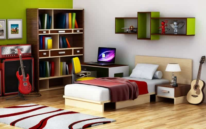 Tips To Style Organize And Decorate A Teenagers Bedroom